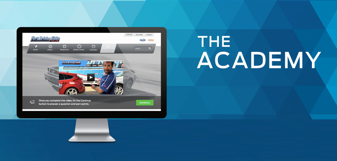 Home page The Academy